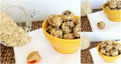 Clean Eating. Peanut Butter Chocolate Chip No Bake Cookie Balls. YUM!
