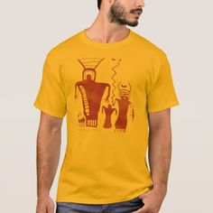 Nine Mile Canyon Rock Art 'Aliens' T-Shirt - tap to personalize and get yours Types Of T Shirts, Gamer T Shirt, Retro Gamer, Fishing T Shirts, Funny Tshirts, Shirt Style, Fitness Models, Shirt Designs, Casual