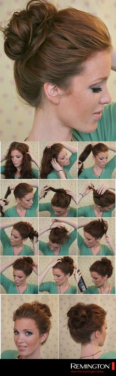 Este DIY es ideal si buscas elaborar un peinado formal para algún evento. ¡Te verás muy elegante! #hair #hairstyle #DIY #bun #beauty #woman #love