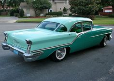 1957 Oldsmobile Ninety-Eight Holiday Sedan
