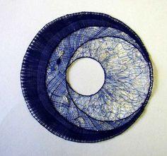 Tatting, Pin Weaving, Bobbin Lacemaking, Lace Art, Bobbin Lace Patterns, Textile Fiber Art, Lace Jewelry, Lace Making, Texture Art