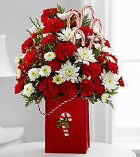 The FTD® Holiday Cheer™ Bouquet - VASE INCLUDED