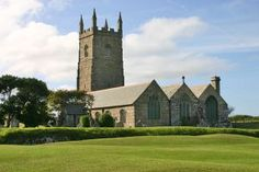 ST EUNY   St Uny   Lelant, Cornwall: Saint Euny's feast day is 01 February     ✫ღ⊰n