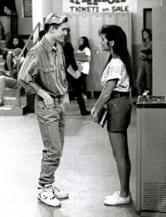 Saved By The Bell is a great show. With great fashion statements too.