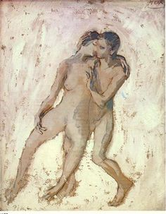 Nudes interlaces 1905 Pablo Picasso