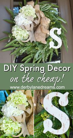 Easy, DIY Spring Wre