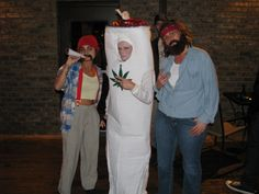 Cheech u0026 Chong u0026 Doobie Best Homemade Halloween Costumes! & Coolest Rollergirl and Dirk Diggler Costumes from Boogie Nights ...