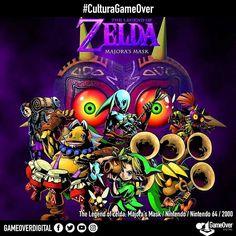 The Legend of Zelda: Majora's Mask cumple 16 años el día de hoy! #MajorasMask #CulturaGameOver #Zelda