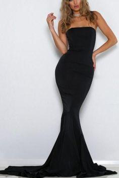 Mermaid Prom Dresses, Satin Prom Dresses, Backless Prom Dresses, Black Prom Dresses Online