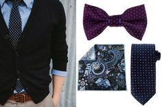 Akcesoria męskie - krawaty, muchy / fot. thestyle.city / materiały partnerów