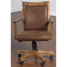 49 Vintage Office Chair Design Ideas From Wood - Dlingoo Rustic Office Chairs, Used Office Chairs, Vintage Office Chair, Best Office Chair, Rustic Desk, Rustic Chair, Wooden Chairs, Wooden Desk, Conference Room Chairs