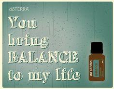 doTERRA Valentine's Cards! YES! I love Balance!