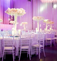 Luxury Lavender and silver Wedding Reception Decorations Archives - Weddings Romantique Mod Wedding, Chic Wedding, Luxury Wedding, Wedding Table, Wedding Ceremony, Dream Wedding, Wedding Day, Trendy Wedding, Wedding Favours Uk
