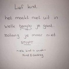 Lief kind...