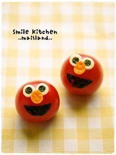 Elmo tomatoes