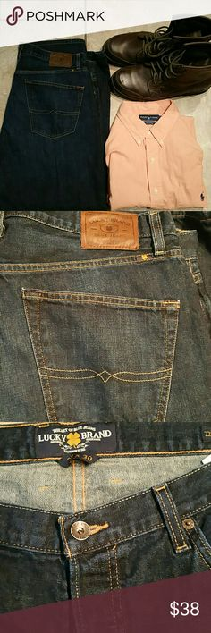 Lucky Brand 38 X 30 Lucky  Brand Jeans size 38 X 30 Lucky Brand Jeans Straight