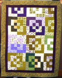 A great Bento box quilt, by Barb Curran.