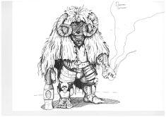 """""""Dwarven Sorceror"""" by Jozsef Tothi #dwarf #sorcerer #rpg #fantasy"""