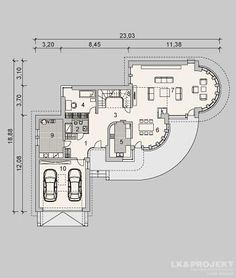 My House Plans, Luxury House Plans, Villa Plan, Classic House Design, Dream Pools, Villa Design, Home Design Plans, Autocad, Sketching