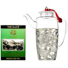 FRENCH ICED TEA - Coffret thé Marco Polo glacé & théière en verre soufflé