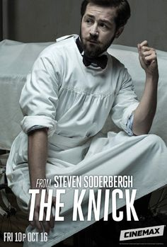 Michael Angarano in The Knick (2014) from Steven Soderbergh, one of my favorite shows about Victorian era Hospital!