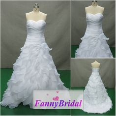 Romantic Bridal Gown 2014 Handmade and Custom Made by FannyBridal