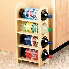 2 LITER BOTTLE RACK review at Kaboodle