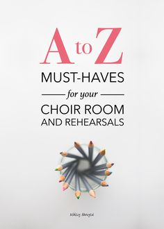 A to Z: Must-Haves for Your Choir Room and Rehearsals Music Lesson Plans, Music Lessons, Choir Room, Music Ministry, Music Classroom, Music Teachers, Future Classroom, Church Music, Worship Songs