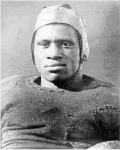 October 15 1916, Paul Robeson was excluded from the Rutgers football team because Washington and Lee University refused to play against a Black player (Mr Robeson was one of their top players). Regretting the decision, Coach G. Foster Sanford a staunch defender of Robeson, stood by Robeson (a sophomore tackle) when the demand was again made by West Virginia.