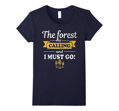 Funny Mushroom Hunting Shirt: The Forest I Calling Morel Tee