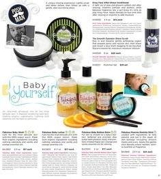 Pampering for your Baby and for your Man PAGE-21