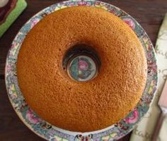 Image of Orange and brown sugar cake | Food From Portugal