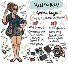 Did one of these meet the artist things because it's trendy ✌