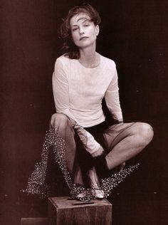 Peter Lindbergh, Isabelle Huppert, 2001