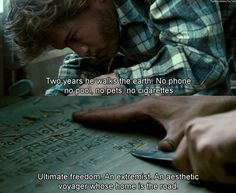 Into the Wild; Happiness only real when shared. Wild Quotes, Tv Quotes, Movie Quotes, Prom Quotes, Cinema Quotes, Movies Showing, Movies And Tv Shows, Scenery Photography, Movie Lines