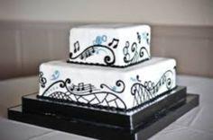 decoro torta matrimonio tema musica - Cerca con Google