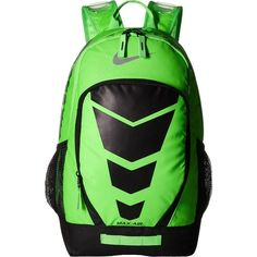 d3e03aafcf Nike Max Air Vapor Backpack (Voltage Green Black Metallic Silver) Day...  ( 56) ❤ liked on Polyvore featuring bags