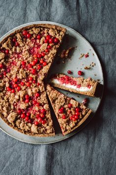 Currant Crumble Cake | KRAUTKOPF