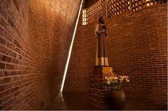 Galería de Fotografías de la Iglesia de Cristo Obrero de Eladio Dieste, por…