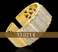 Bracelet 18kt Yg & Diamond - Carats: 3.54 ct - Price: 13.021 € - Direct with the owner, southern Europe - Email: andersonweb@outlook.com