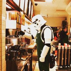 When it's #may4th but you still need #coffee  May the Fourth be with you  #BaristaLife @barista_life #starwars #maythe4th #maytheforcebewithyou #scifi #comedy #humor #coffeetime #coffeelover