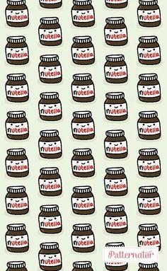 Fondo de Nutella by Patternator