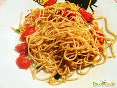 SPAGHETTI INTEGRALI CON LA BOTTARGA #ricette #food #recipes