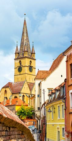 Beautiful View of Lutheran Cathedral, Sibiu city, Romania    |   Discover Amazing Romania through 44 Spectacular Photos