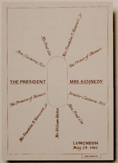 Some entertaining inspiration- a Kennedy seating arrangement.  {via Elements of Style}