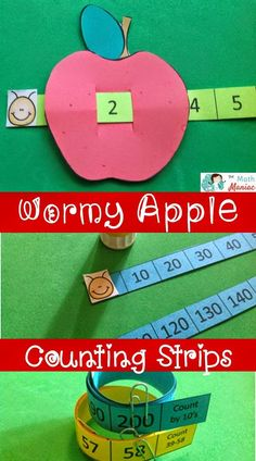 Cute, useful and a lot of fun! Read more about how I use counting strips with K-2 students.