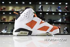 separation shoes 61c1a ffa4d Air Jordan 6 Gatorade 384664-145 Men New Style