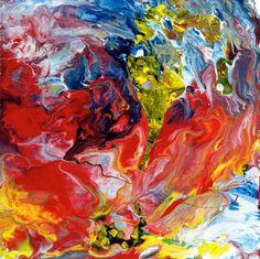 "Saatchi Online Artist: Alejandro Gutierrez; Enamel 2010 Painting ""Abstraktes Bild 41"""