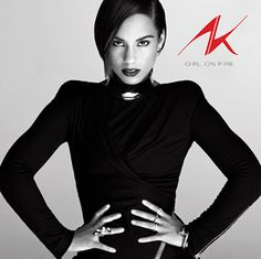 I love Alicia Keys ' * •♫*♥*♫• * ' she's one of my favorite music artists and I so love her style.