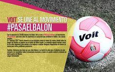 #MásQueUnBalón no sería el mismo sin nuestros amigos de @Voit quienes están siempre al pendiente de los problemas y la mejora social.  #PasaElBalón
